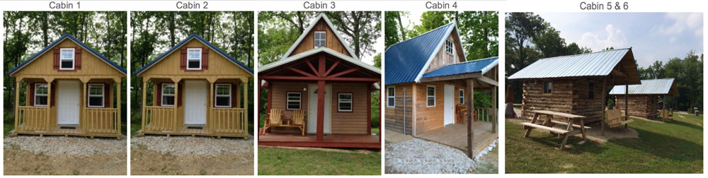 RV cabins and campgrounds in Bloomingdale IN