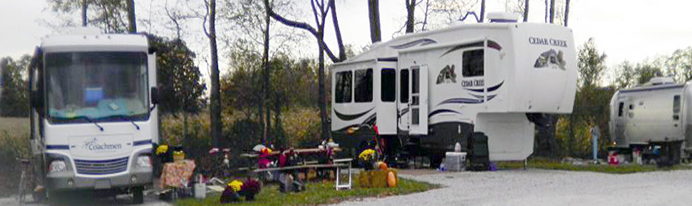 RV campgounds in Bloomingdale IN